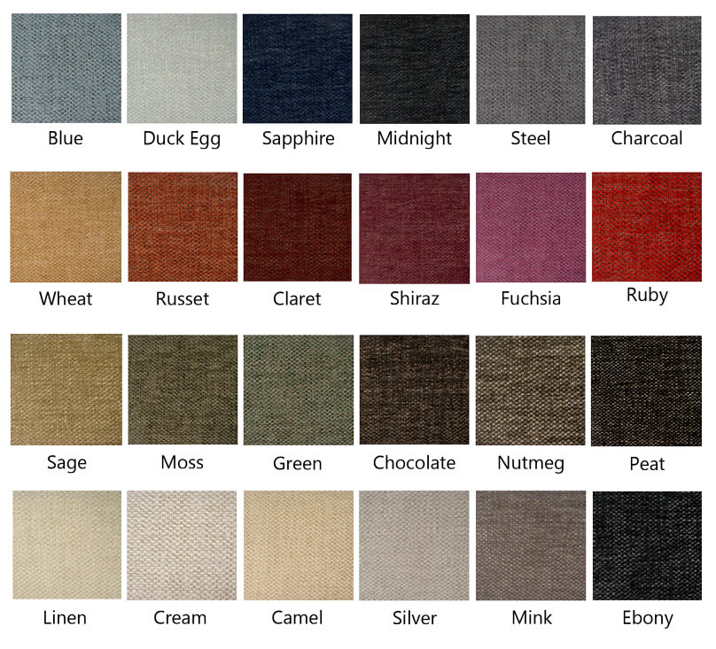 The Classic look - choose from 24 colours in this range.